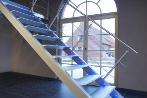 Escalier starlight - porte fenetre - led