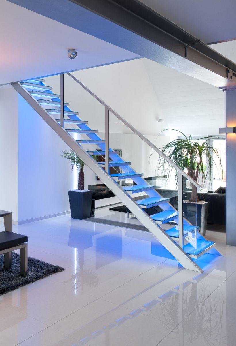 travaux confort escalier graah slide design aluminium cameleon