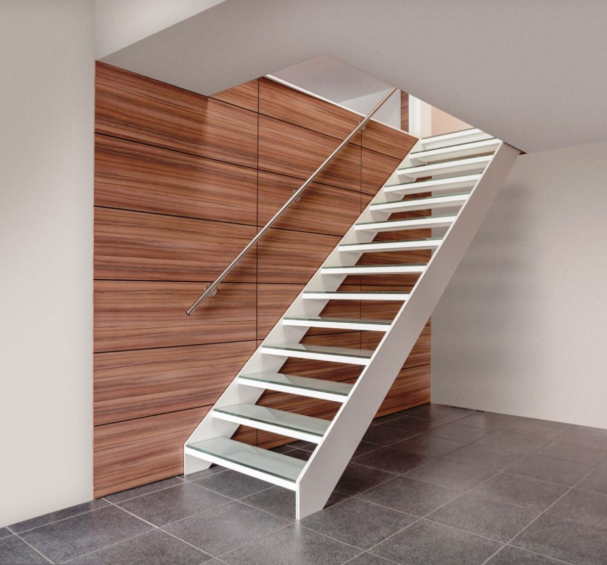 travaux confort escalier graah slide design aluminium trap escalier stair treppen